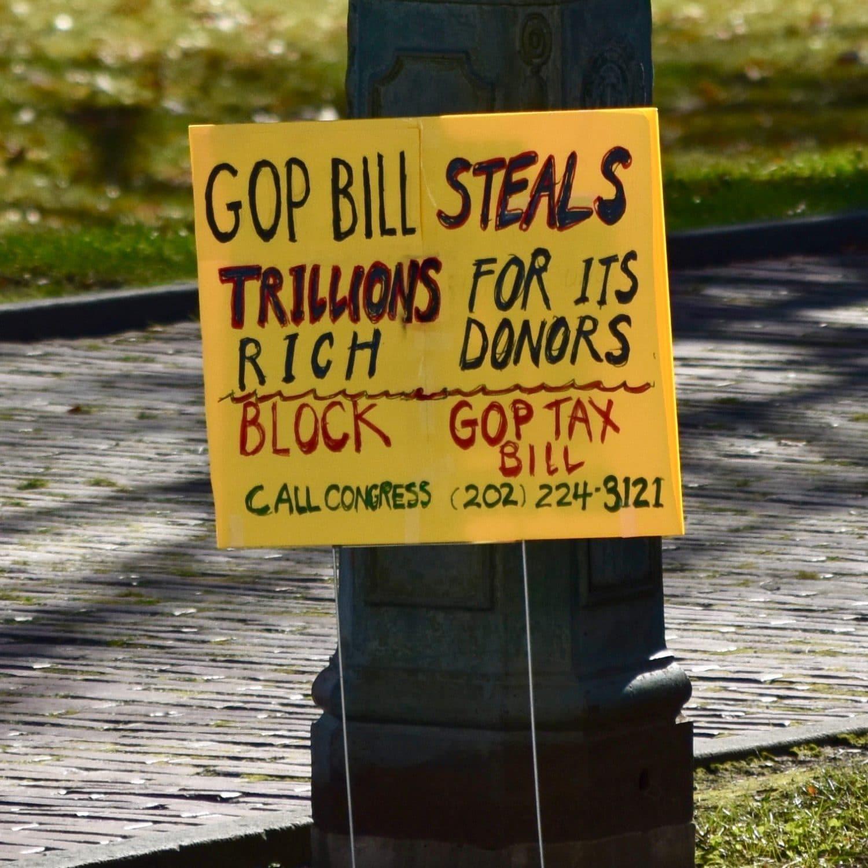 Rhode Island's Kill The Trump Tax Bill Rally