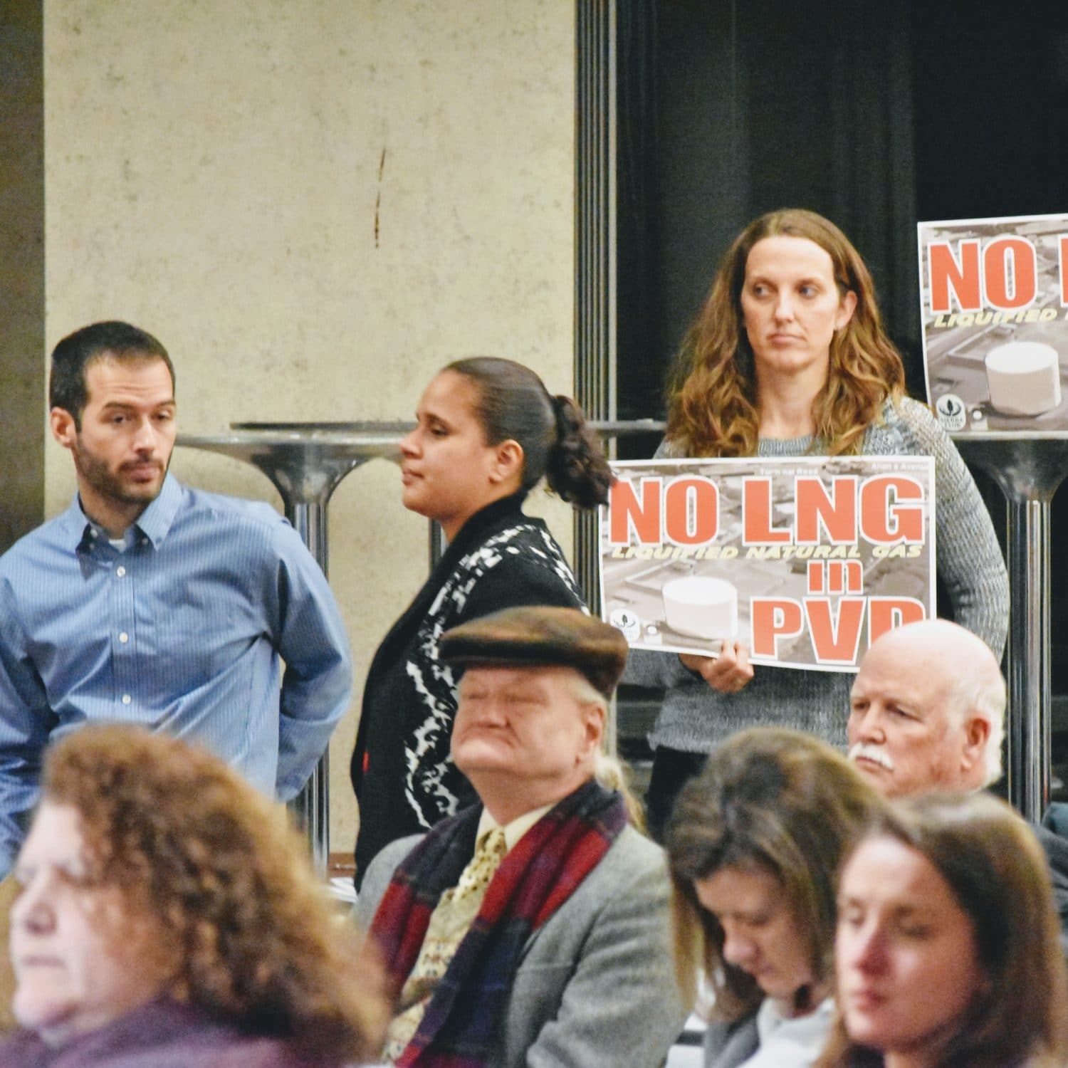 Photo for CRMC hearing consumed by public testimony against National Grid's Port project