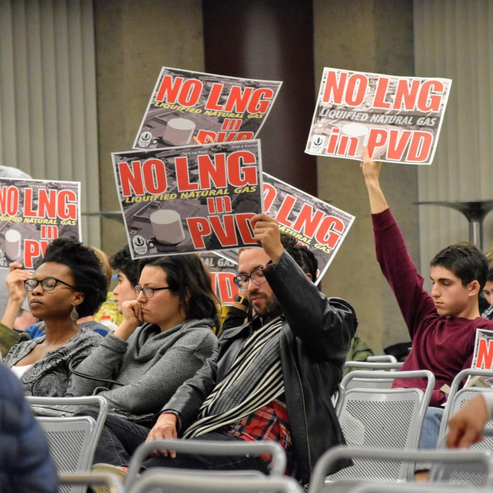 Photo for Community members label National Grid's Port of Providence plans environmental racism at CRMC meeting