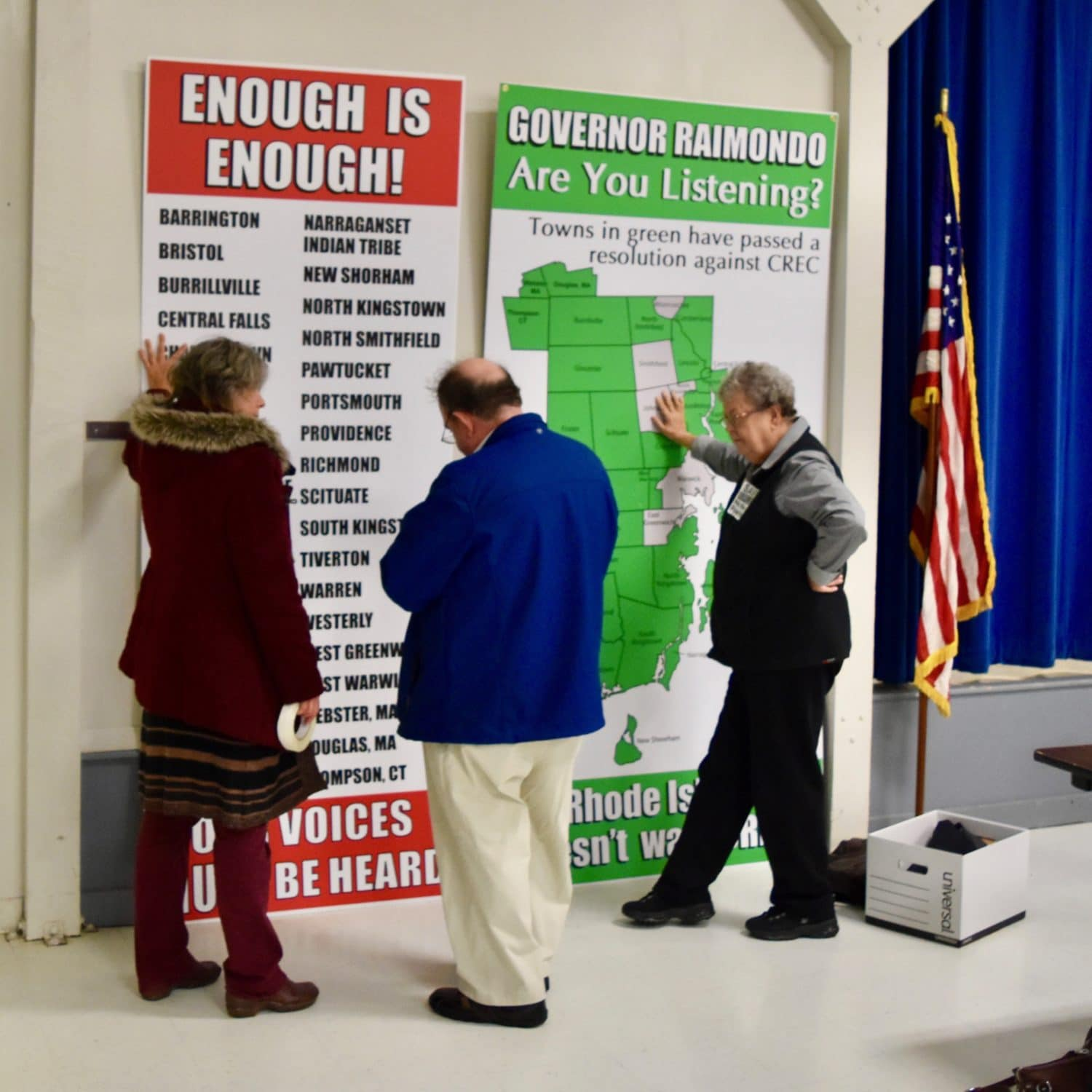 Photo for Scituate is withdrawing their opposition to Invenergy and their support for Burrillville