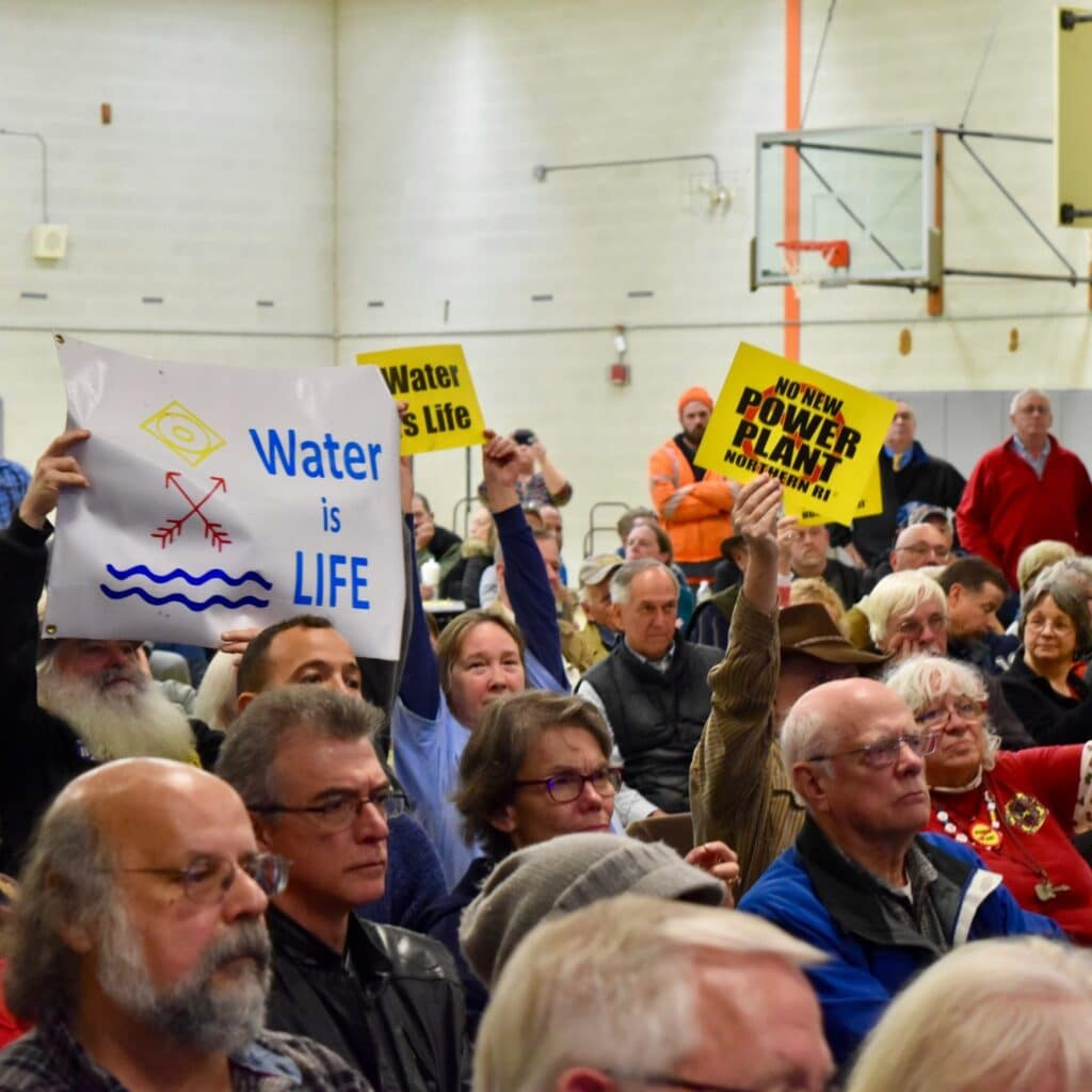 EFSB comes to Charlestown to discuss water, Invenergy denies residents water plan details
