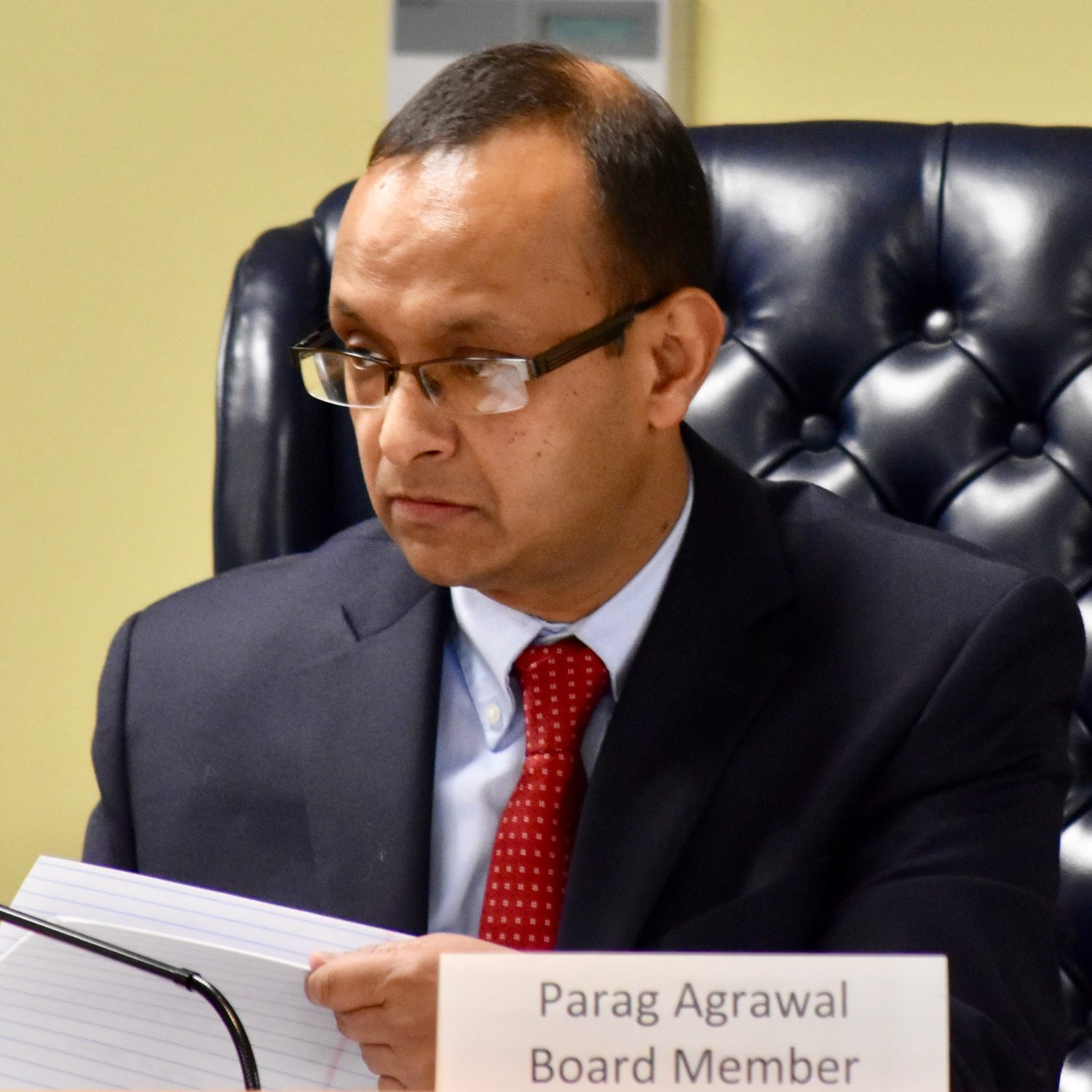 Parag Agrawal out at EFSB, leaving two members to decide on ...