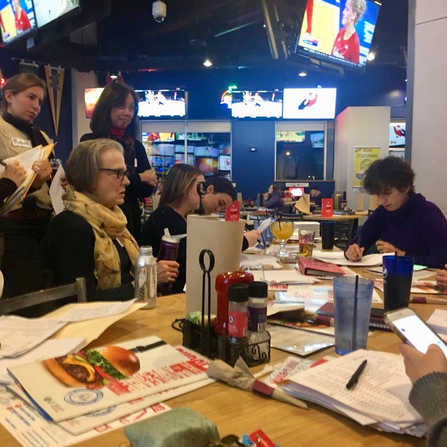 How the executive director of the Rhode Island Democratic Party broke up a meeting of the women's caucus — and kicked us out into the cold