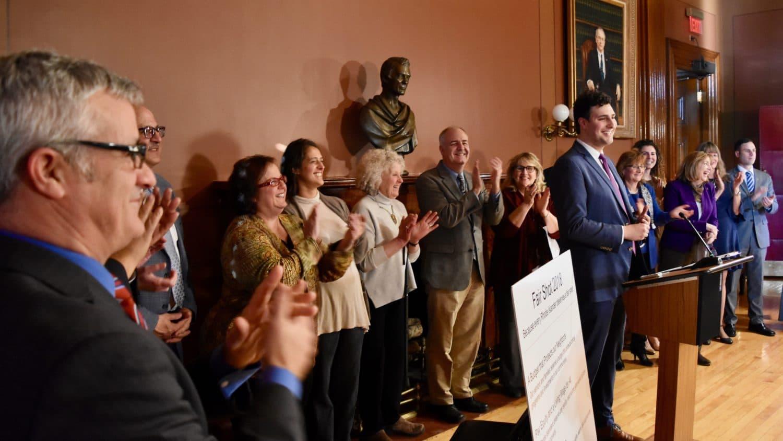 Photo for Legislators introduce the 2018 Fair Shot Agenda