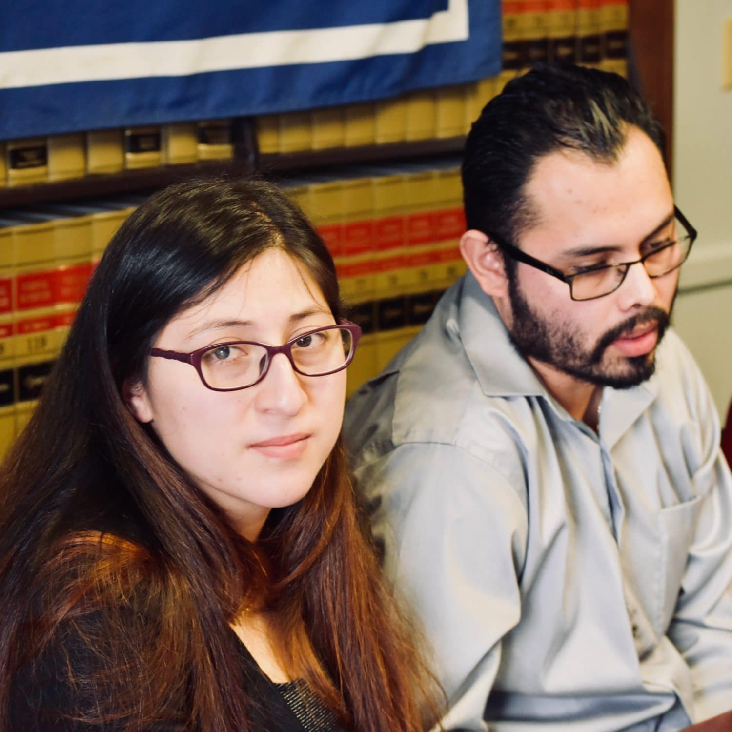 Photo for ACLU files class action lawsuit against ICE and Trump on behalf of Lilian Calderon