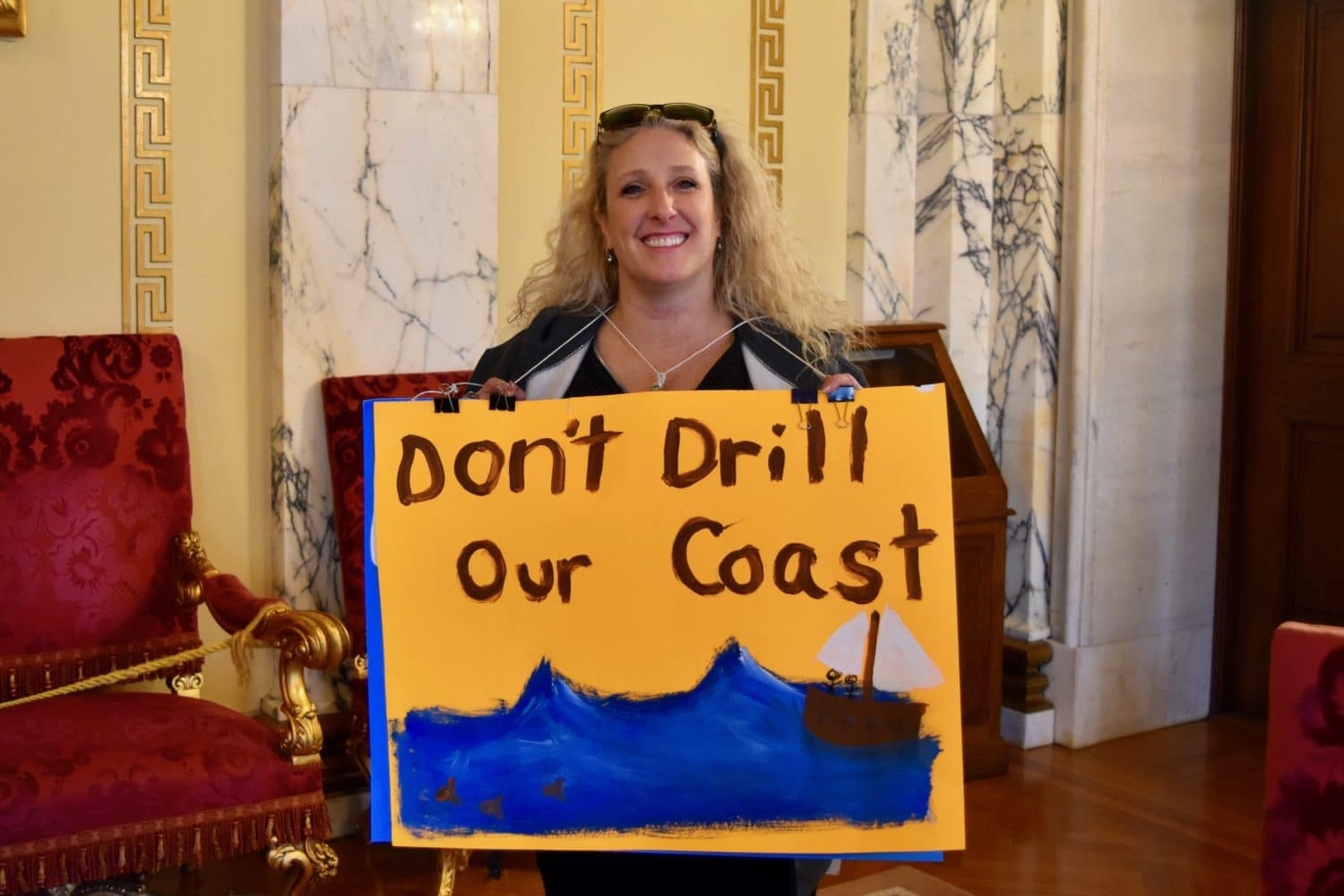 Photo for Rhode Island environmentalists and elected officials say 'No' to Trump's offshore drilling proposal