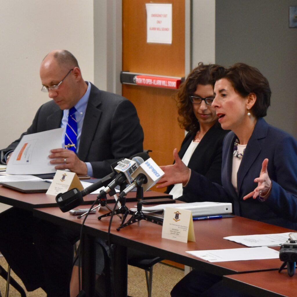Governor Raimondo's Gun Safety Working Group holds first meeting