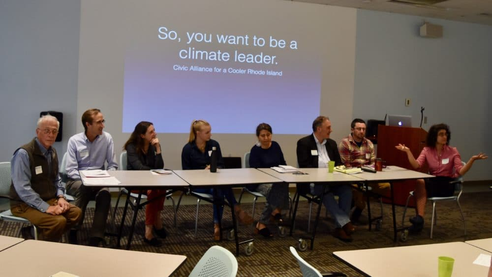 Civic Alliance for a Cooler Rhode Island holds candidate workshop on environmental and energy issues