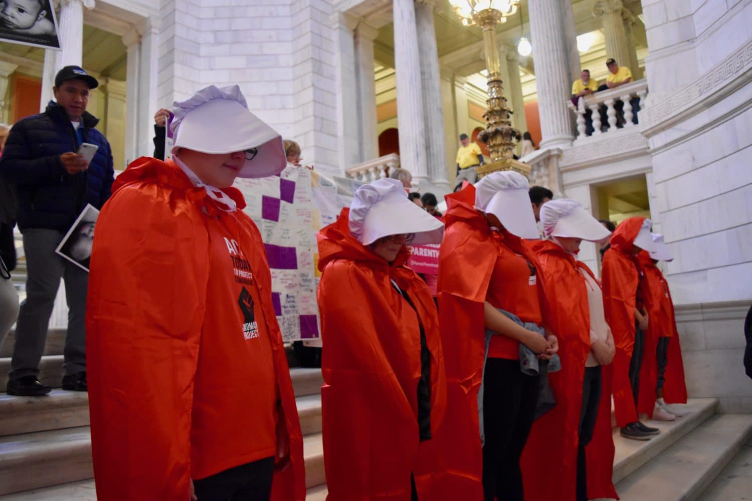 Photo for Reproductive Health Care Act gets its hearing at a busy State House