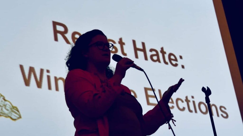 Resisting hate by winning some elections