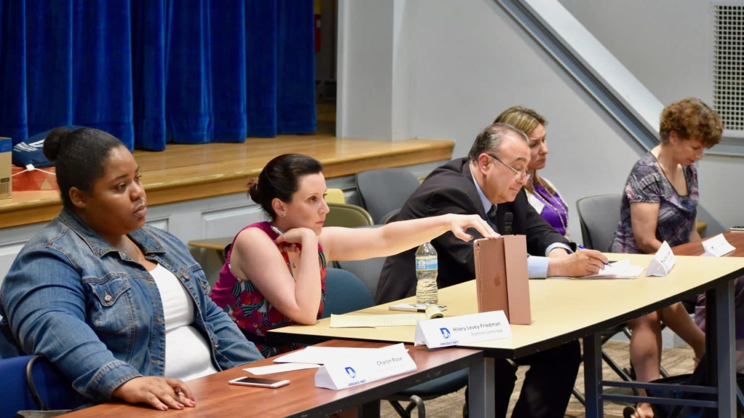 Photo for Democratic Platform Committee meeting grapples with party divisions in South Kingstown