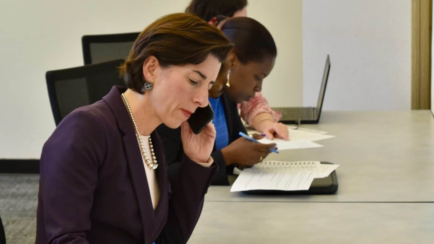 Photo for Governor Raimondo makes strong statement of support for reproductive rights in State of the State address