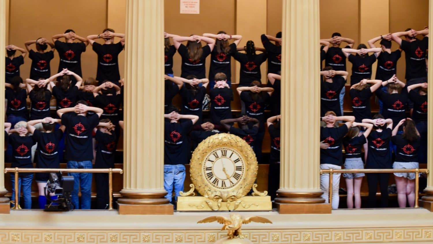 Photo for Students protest General Assembly's lack of action on Safe Schools Act