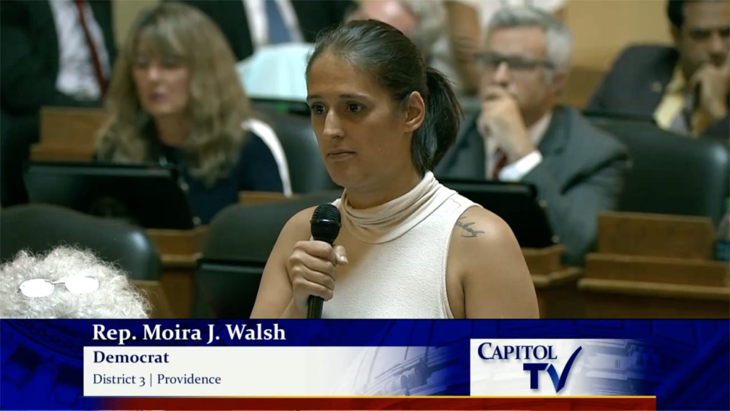 Photo for Ignoring reason and compassion makes for bad policy: RI House passes Kristen's Law