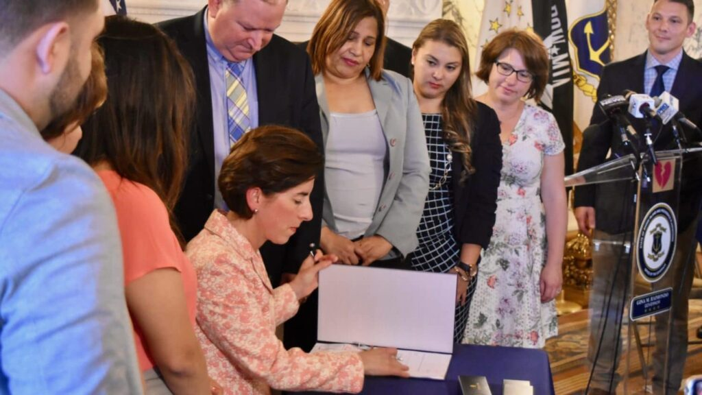 Rhode Island passes law protecting DACA recipients' ability to obtain drivers licenses