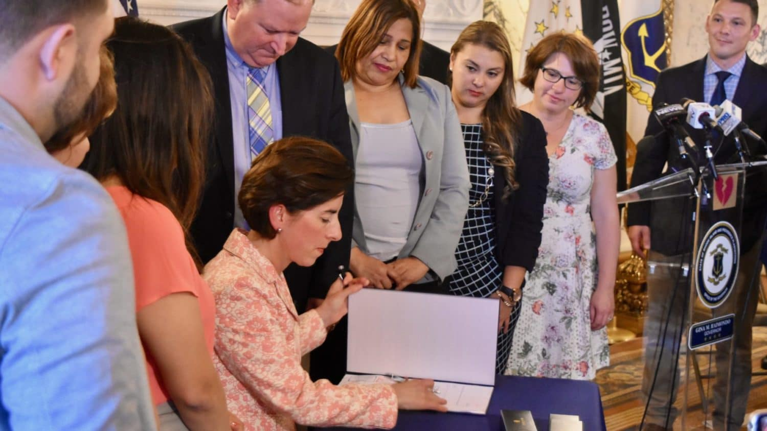 Photo for Rhode Island passes law protecting DACA recipients' ability to obtain drivers licenses