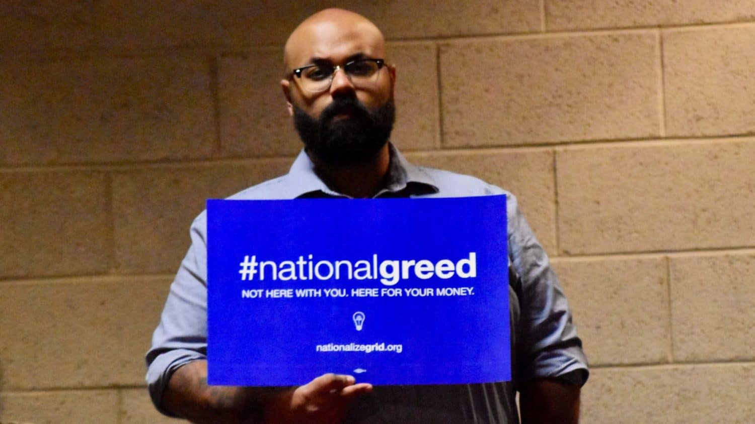 Photo for Advocates challenge National Grid rate increase and National Grid's need to exist