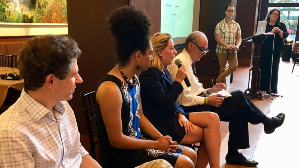 Candidates for Providence City Council meet make their case to downtown residents