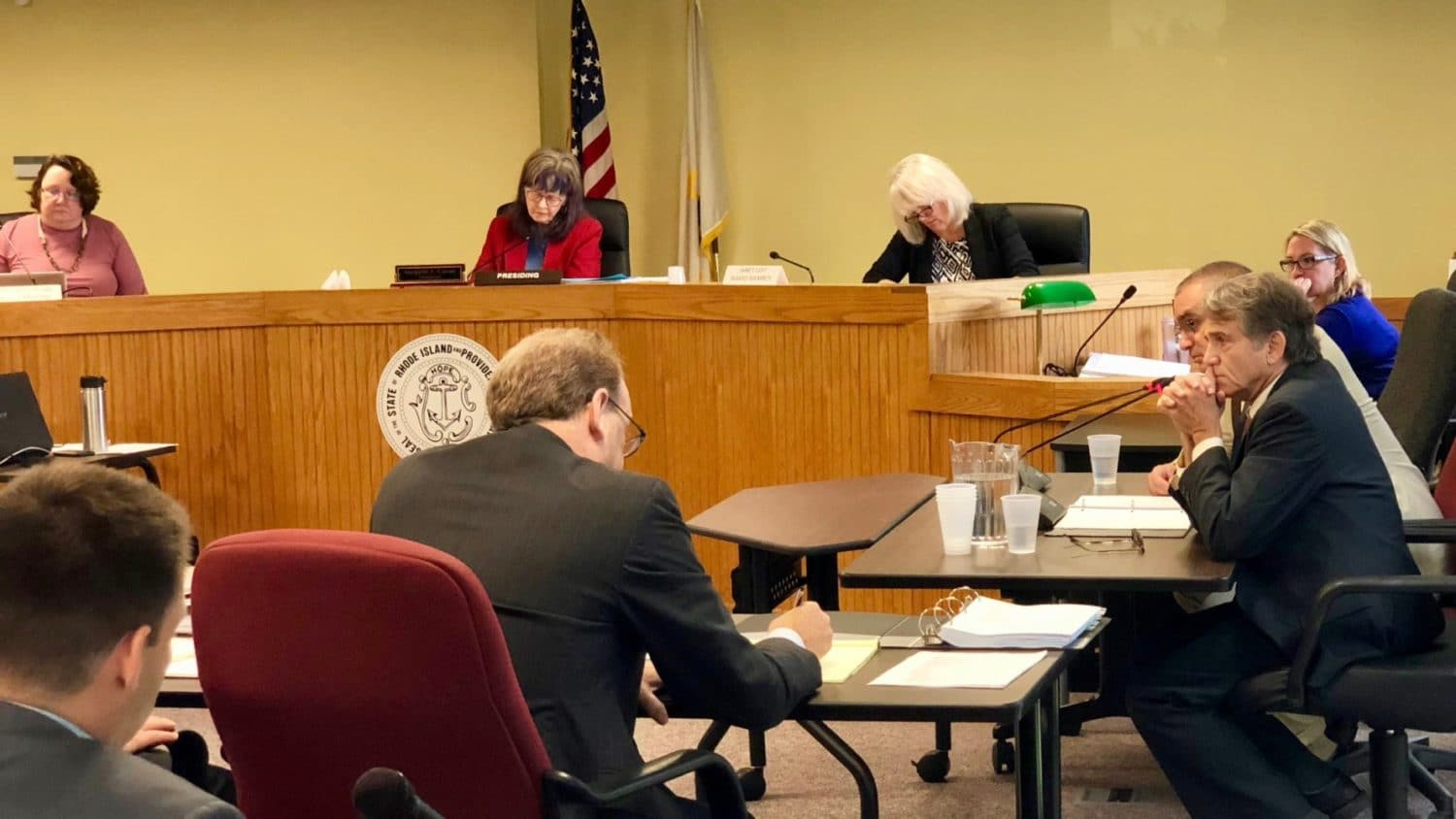 Photo for Burrillville hurting their own property values by organizing against power plant, says Invenergy witness