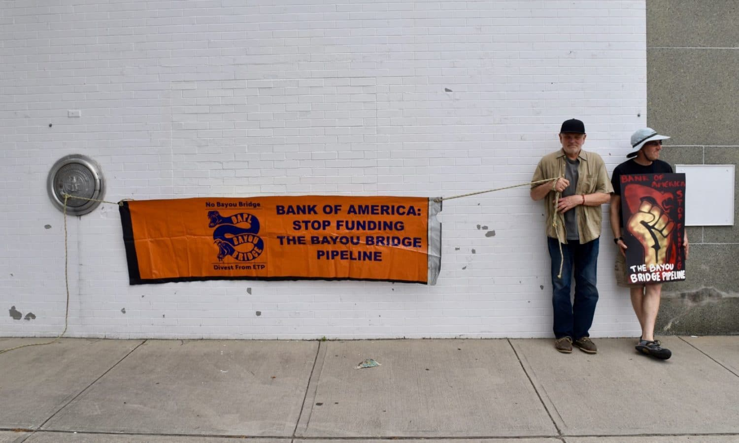Photo for Bank of America finances pipelines, FANG is asking that you move your money elsewhere