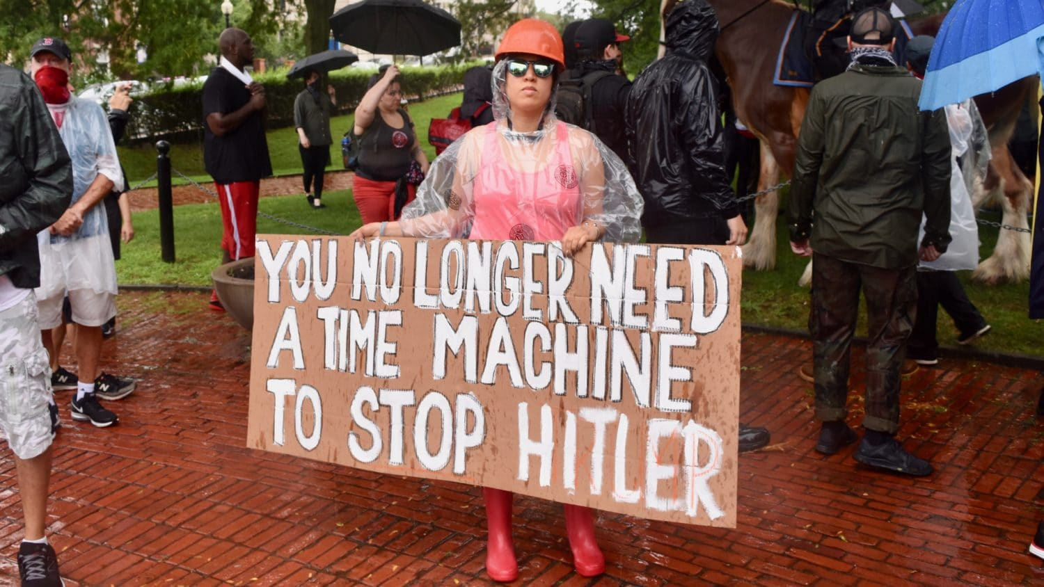 Photo for Ocean State Against Hate shuts down Resist Marxism rally in Providence