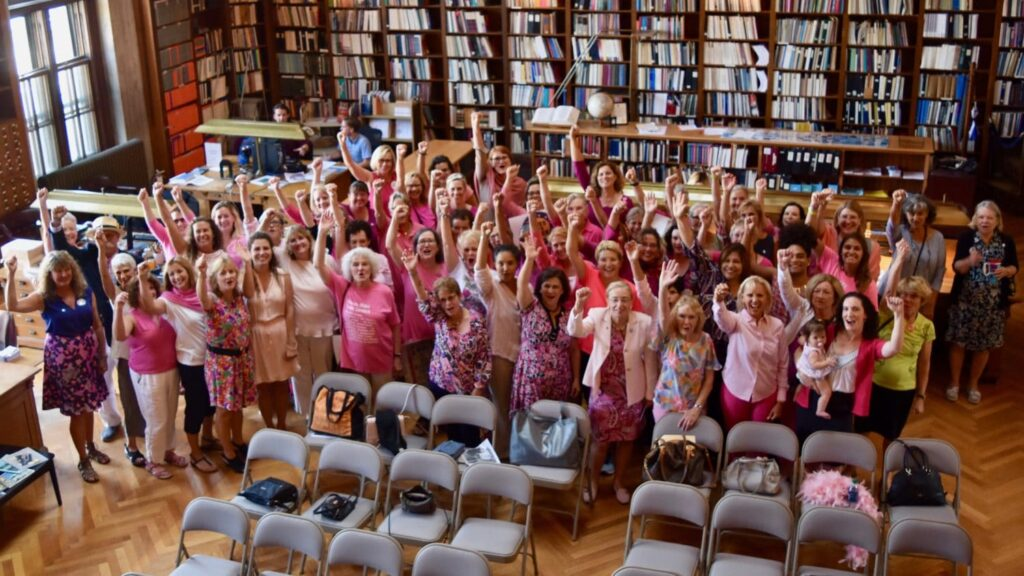 Women candidates and elected officials celebrate a 'pink wave' at the State House