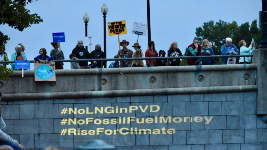 Waterfire (and the Climate Crisis) sponsored by National Grid
