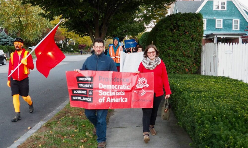 Halloween-themed Providence DSA Rally draws attention to ...