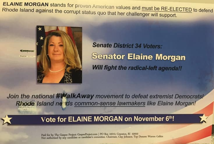 Antisemitic dog whistles featured in new Gaspee Project mailer supporting State Senator Elaine Morgan