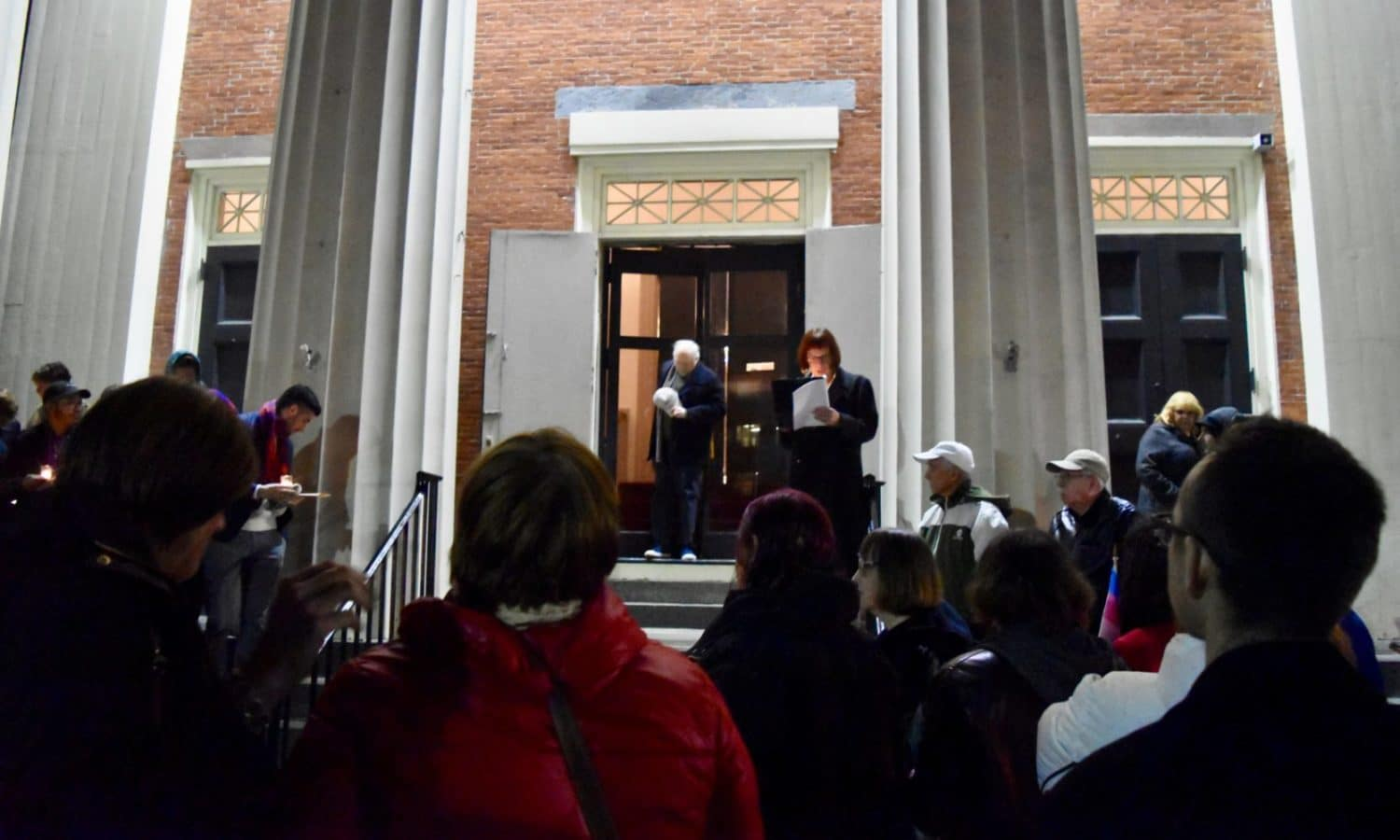 Photo for Transgender Day of Remembrance service at Beneficent Church