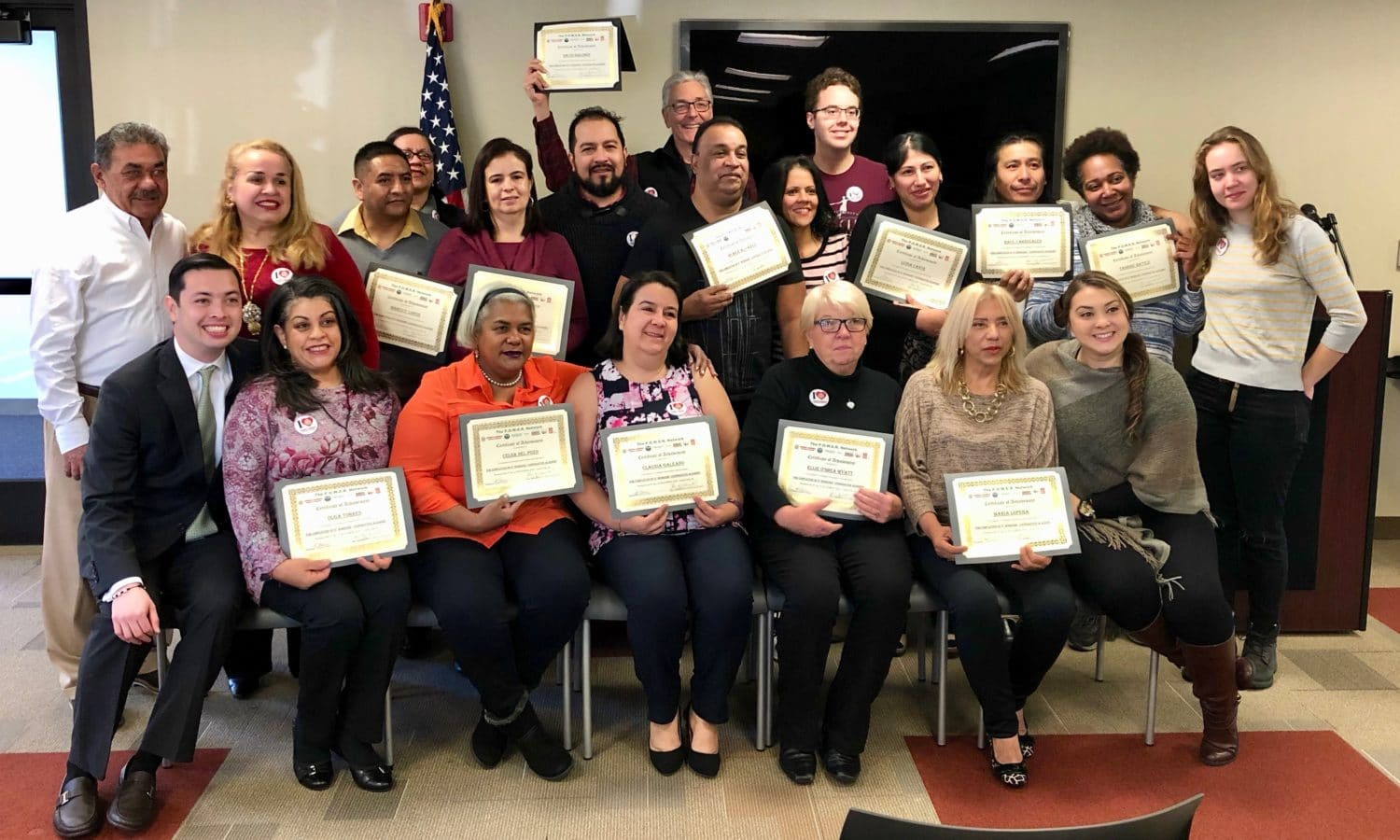Photo for Workers Cooperative Academy graduates their second class