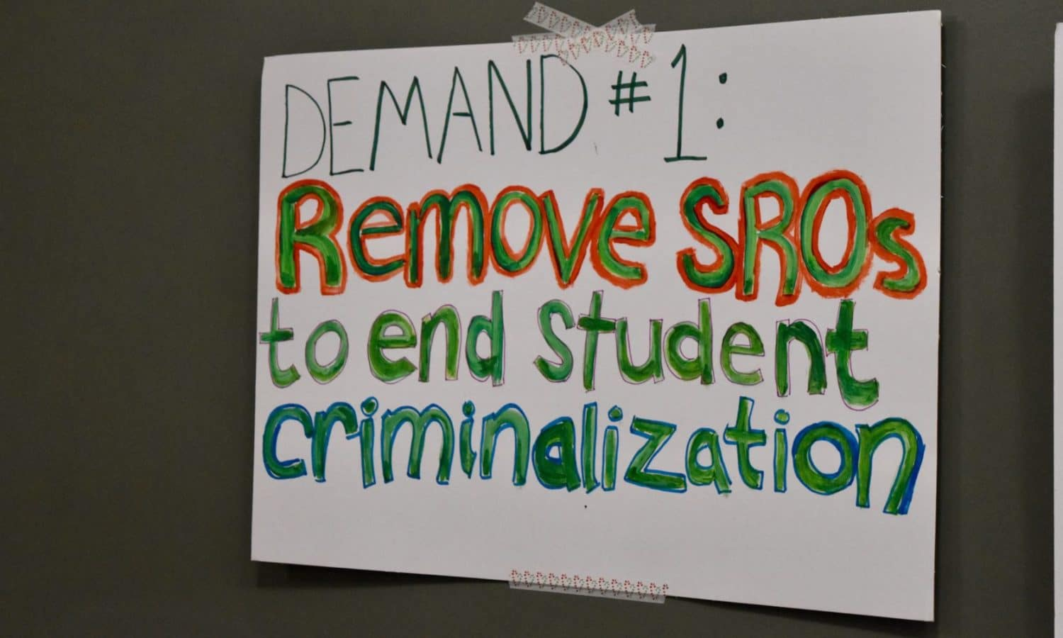 Photo for The Slow and Fast Assault on Public Education: Providence teachers and student activists have a common enemy