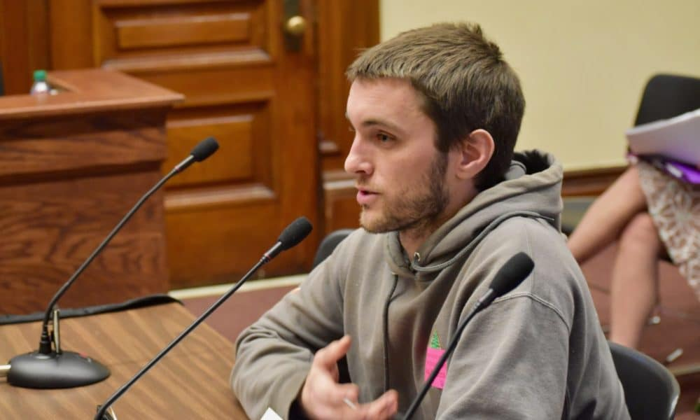 Photo for Nathanael Webb-Hines: My experience at the House Rules Committee