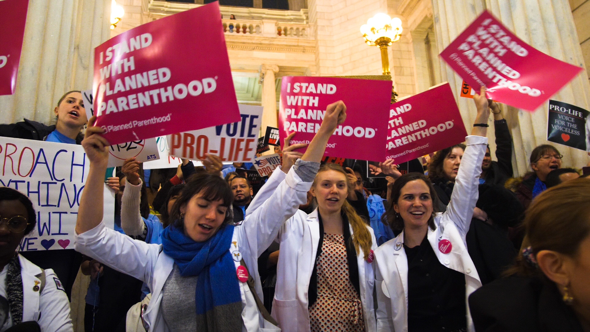 Photo for Selene Means: Photos from the House hearing on the Reproductive Health Care Act
