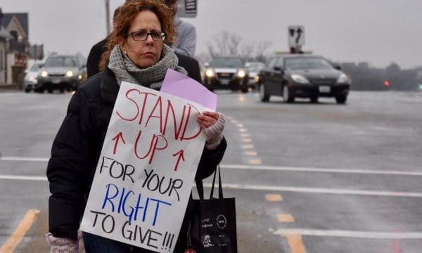 Photo for After four years, Cranston panhandling ordinance struck down
