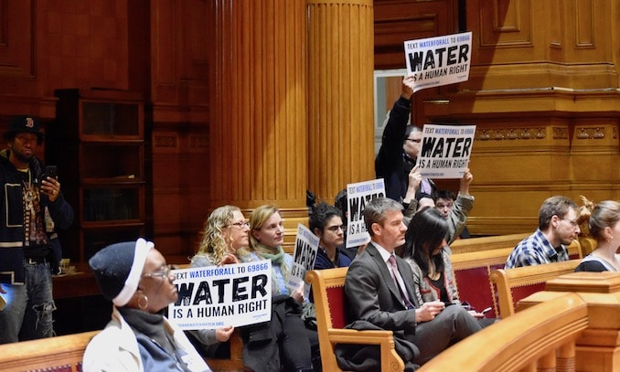Photo for Providence City Council resolution against water monetization sent to committee