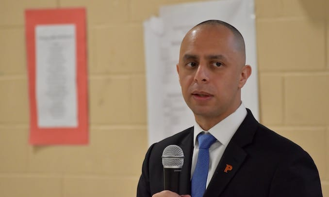 Photo for Mayor Elorza's first Community Conversation about monetizing Providence Water