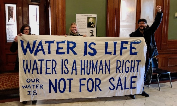 Photo for Elorza administration presents water monetization plan to Providence Water Board, activists push back