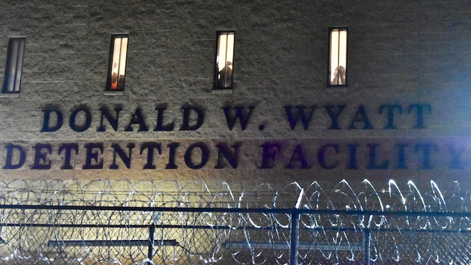 Photo for Reactions to Wyatt Dentention Center crisis