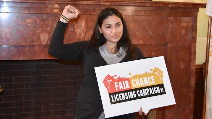 Photo for The Fair Chance Licensing Coalition says everyone deserves meaningful employment