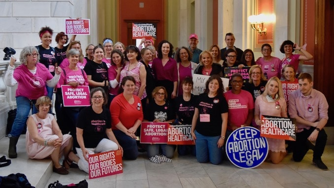 Photo for Reproductive Privacy Act passes out of Committee and onto Senate Floor