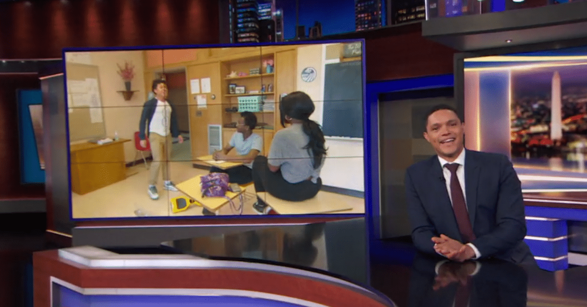 Photo for Providence students featured on The Daily Show with Trevor Noah