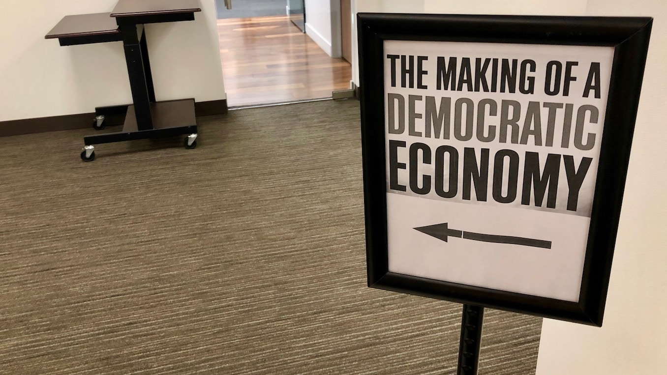 Photo for The Making of a Democratic Economy: A conversation with economist Marjorie Kelly