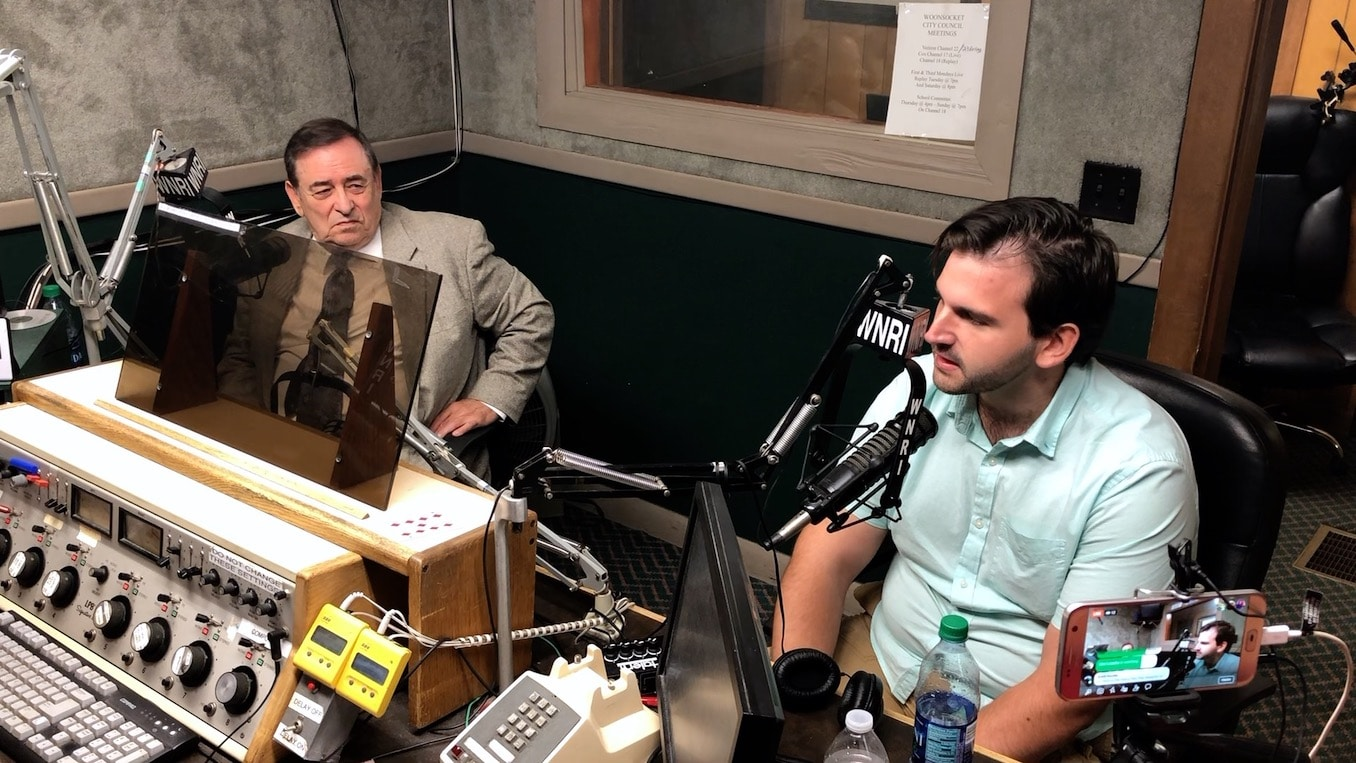 Photo for Final debate between Woonsocket City Council candidates Kithes and Jalette airs on WNRI radio; Election date August 6