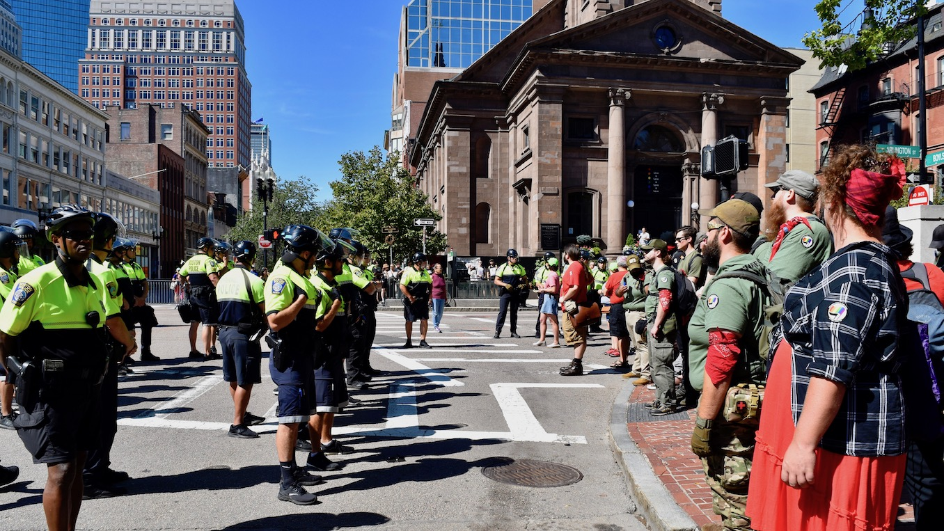 Photo for National Lawyers Guild attorney defending 'Straight Pride' protesters taken into custody and held in contempt of court