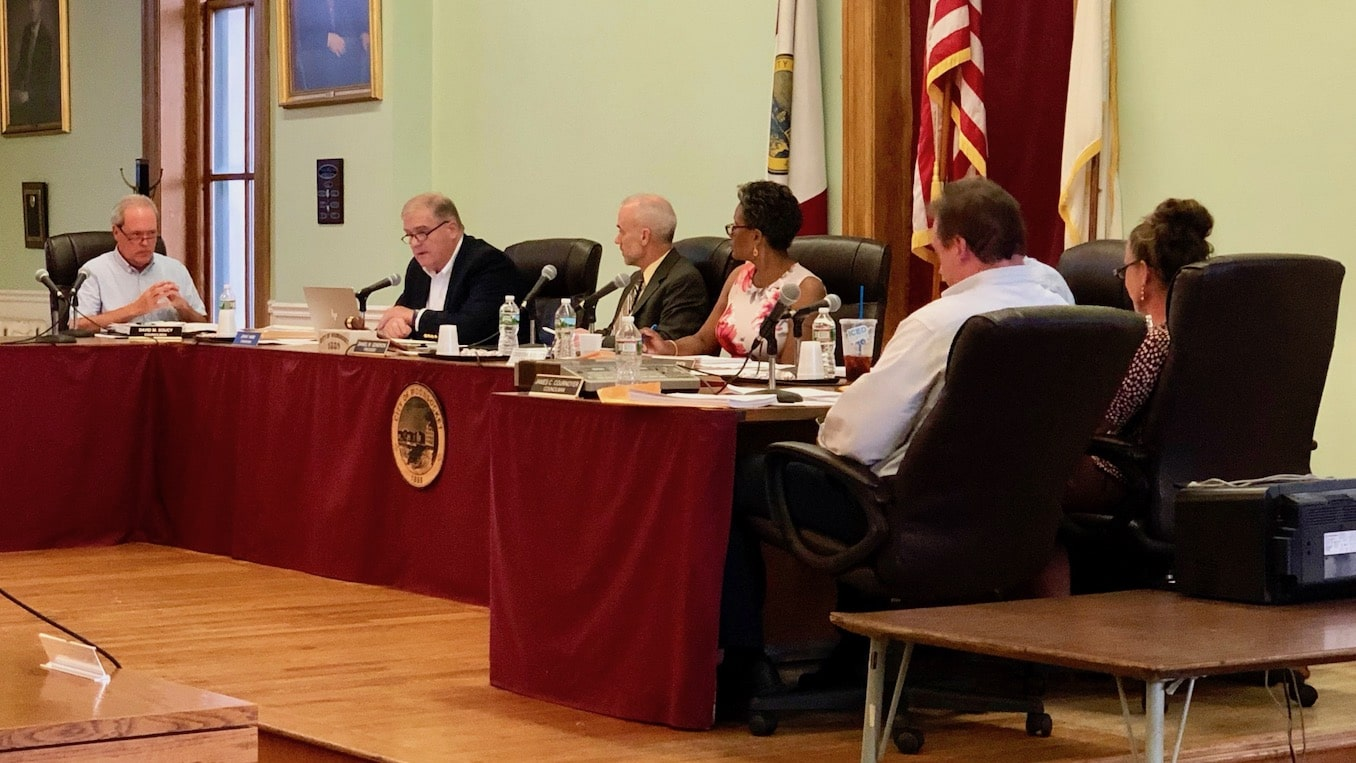 Photo for The Woonsocket City Council just amended a resolution against white nationalism into a mockery of itself, then passed it