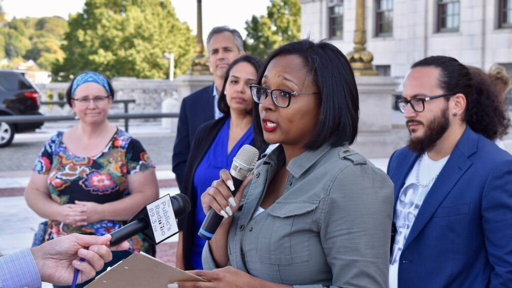 Rhode Island Political Cooperative stands in support of the RIDP Women's Caucus