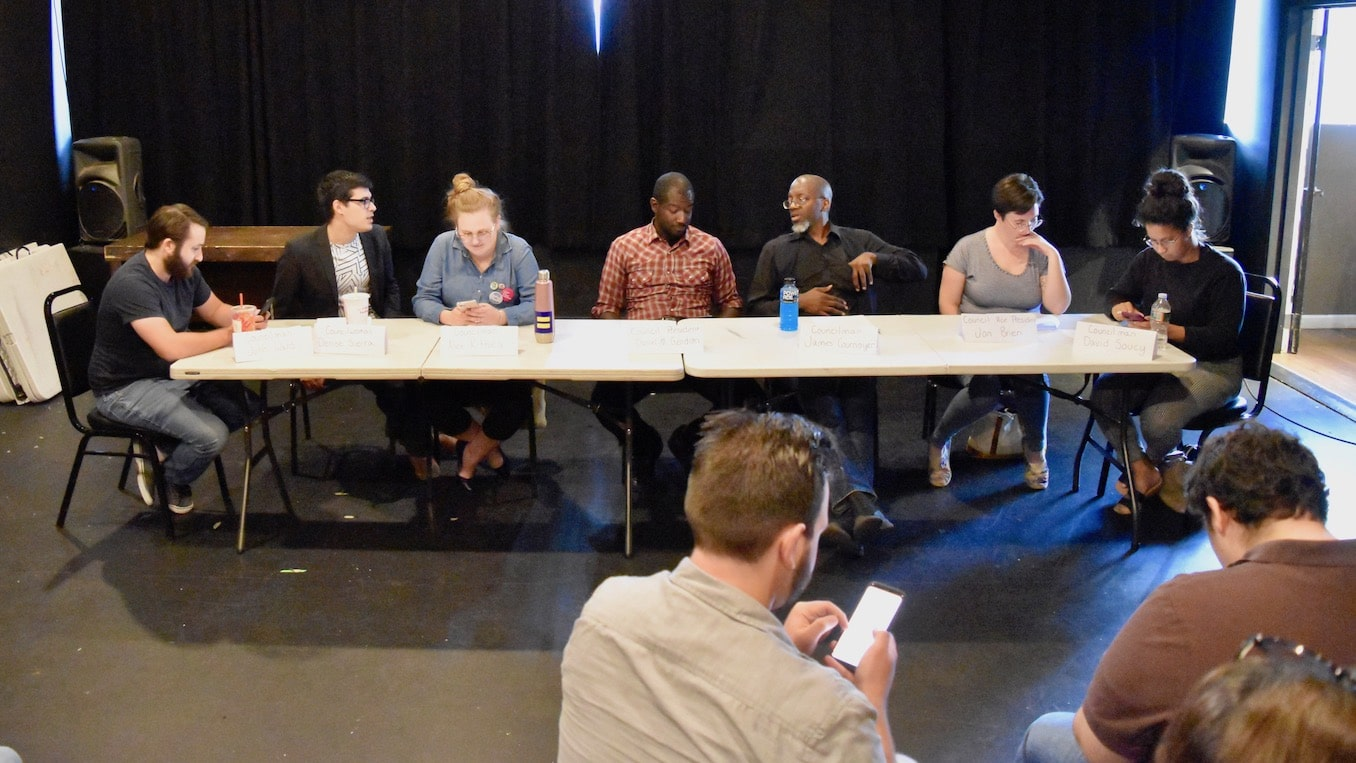 Photo for Epic Theatre does a dramatic reading of Woonsocket City Council meeting