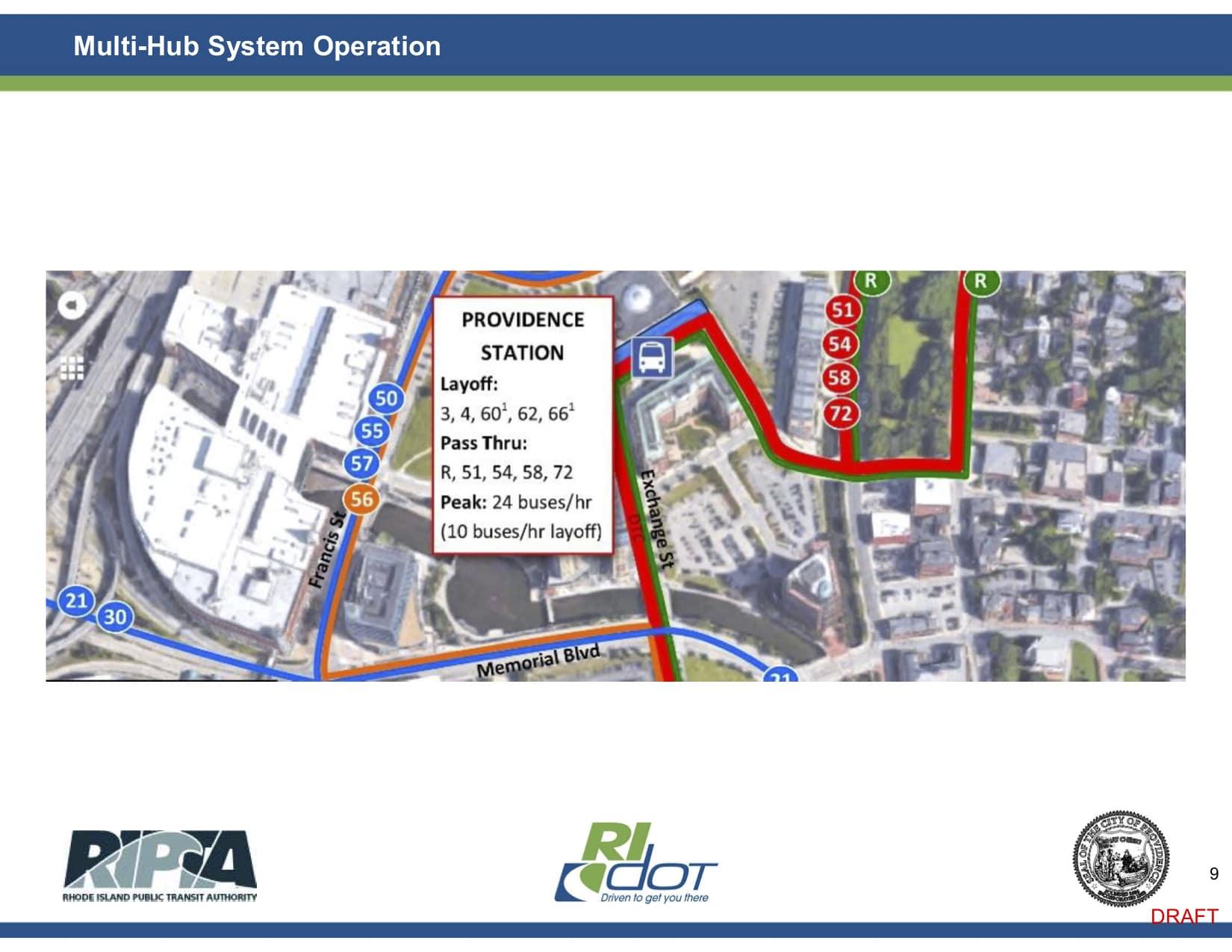 Photo for Governor Raimondo's Multi-Hub Bus System plan