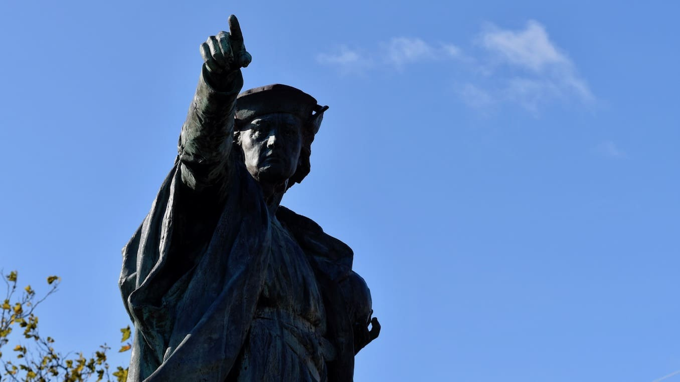 Photo for Quit the faux outrage: The Columbus statue is fine, and City Councilor Kerwin is right